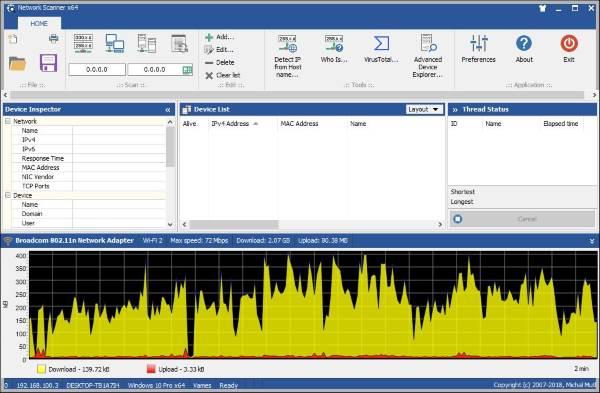MiTeC Network Scanner está destinado a los administradores de sistemas y TI 1
