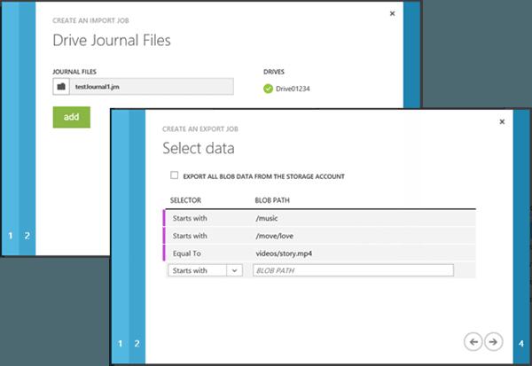 Herramienta de Importación y Exportación Microsoft Azure: Herramienta de preparación y reparación de accionamientos 1
