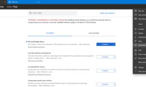 Cómo habilitar el tema Modo oscuro en el nuevo navegador Microsoft Edge