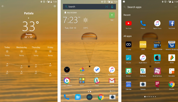 Microsoft Launcher para Android - Características y descargas 1