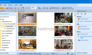 Cómo instalar Microsoft Office Picture Manager en Windows 10