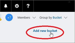 Cómo crear cubos para clasificar tareas en Microsoft Planner 1
