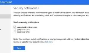 Habilitar nuevas funciones de seguridad adicionales para su cuenta de Microsoft