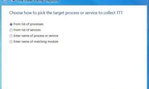 Herramienta de diagnóstico de Microsoft Time Travel Tracing