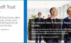 El Centro de confianza de Microsoft le ayuda a administrar la seguridad, la privacidad y el cumplimiento de normativas.