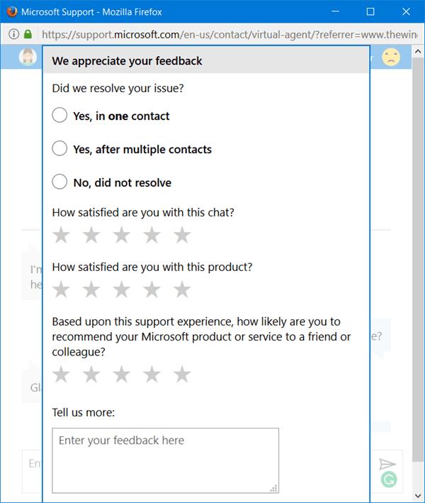 Microsoft Virtual Support Agent le ayudará a resolver sus problemas