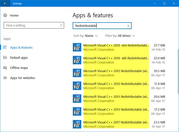 Paquete redistribuible de Microsoft Visual C++: Preguntas frecuentes y descargas