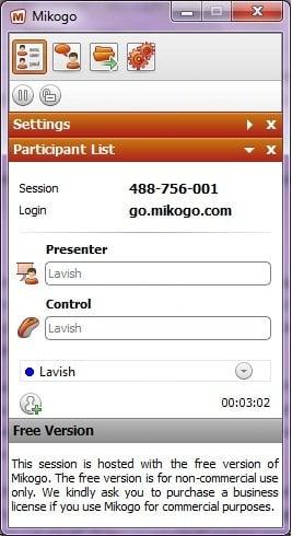 Mikogo: Herramienta gratuita de conferencias web para Windows 1