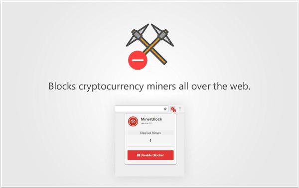 Bloquee sitios web para que no usen su CPU para minar Cryptocurrency