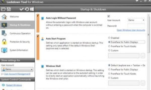 Herramienta de bloqueo frontal: Proteja los equipos con Windows que se utilizan como terminales de quiosco públicos