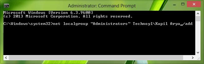 Corrección: Faltan cuentas de usuario después de actualizar a Windows 8.1 6