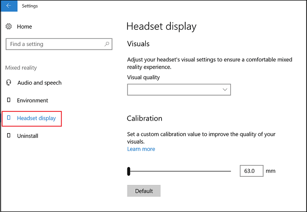 Habilitar/Deshabilitar/Deshabilitar/Desinstalar la configuración de Realidad Mixta y conectar el micrófono de escritorio en Windows 10