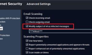 Configuración de AVG Antivirus Free para tareas adicionales