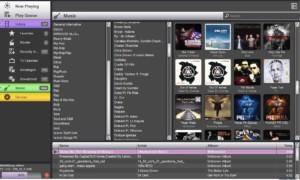Organice archivos multimedia con Moovida, un software gratuito de Media Center para Windows 7.