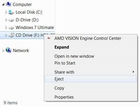 Cómo montar y desmontar un archivo ISO en Windows 10/8