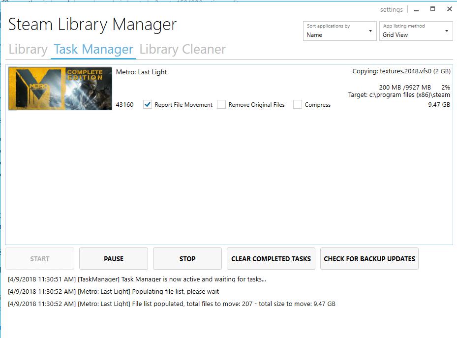 Cómo mover uno o varios juegos de Steam a otra unidad o carpeta 4