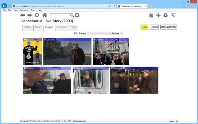 Organiza tus películas con Movies by CraigWorks para Windows