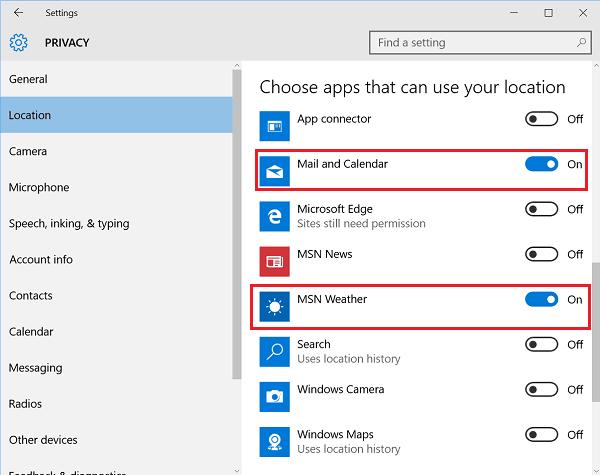Haga que la aplicación Calendario de Windows 10 muestre la información meteorológica diaria por usted