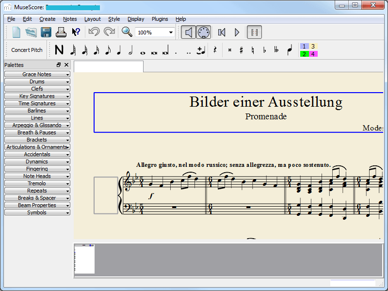 Descargar MuseScore for Windows - A Freeware to Notate and Compose Music
