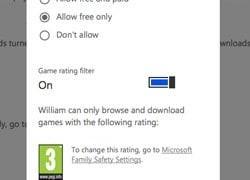 Mi familia ayuda a administrar las compras de aplicaciones y juegos para niños en Windows Phone