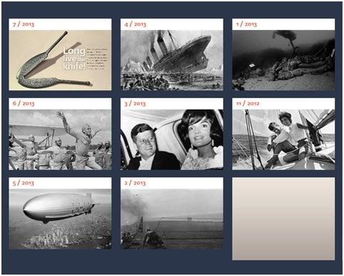 Aplicación educativa para Windows 8 - my History Digest 4