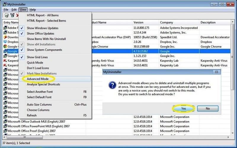 Mi desinstalador: Desinstalador Portátil Freeware para Quitar o Desinstalar Software 4