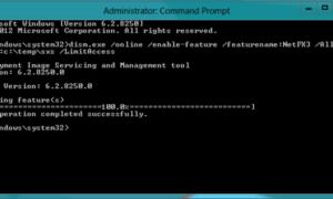 Habilitar .NET Framework 3.5 en sistemas Windows