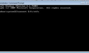 Cómo convertir un disco duro o una partición al formato NTFS en Windows 7/8/10