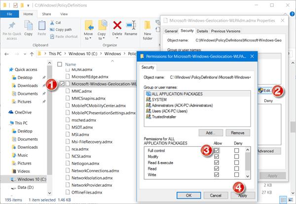 El espacio de nombres ya contiene un error definido al abrir el Editor de directivas de grupo en Windows 10.