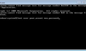 Restablecer la contraseña de administrador en Windows con las teclas rápidas