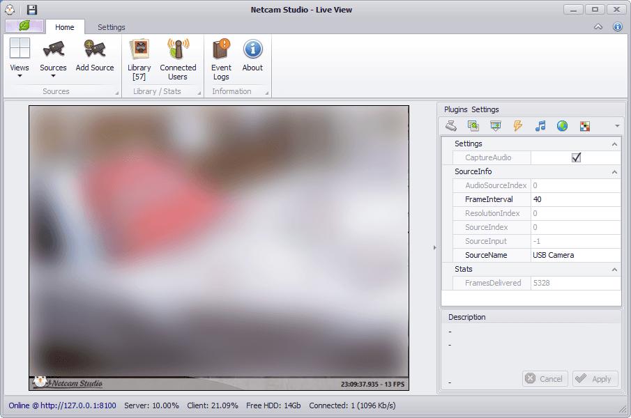 Estudio Netcam: Sistema de vigilancia todo en uno para Windows