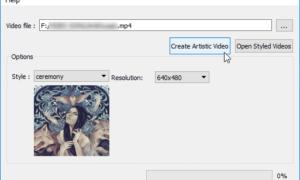 NeuralStyler le permite añadir efectos de diseño a la imagen, vídeo y archivos GIF