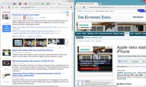 NiftySplit Chrome Extension automatiza el proceso de división del panel de visualización