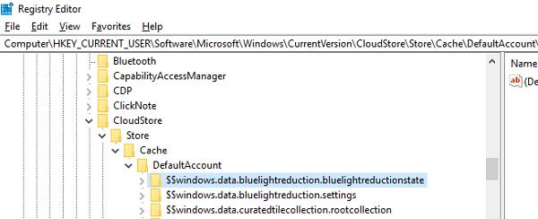 Windows 10 Luz nocturna no funciona o no se enciende