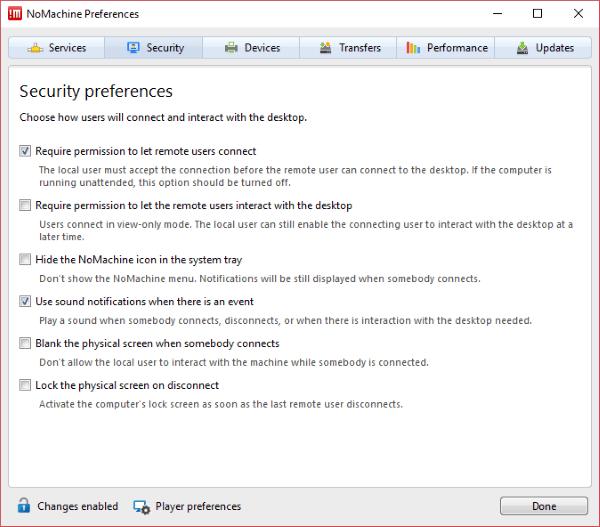 NoMachine es una herramienta de escritorio remoto gratuita y portátil para PC con Windows.