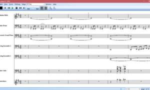 El Reproductor de notación permite ver notas musicales y leer letras de canciones