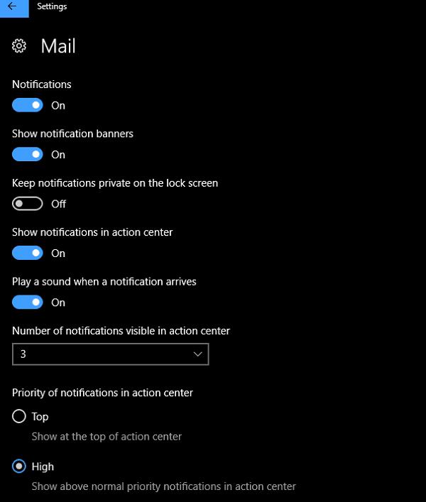 Cómo personalizar el Centro de notificaciones y acciones en Windows 10 7