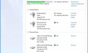 Cómo usar los espacios de almacenamiento en Windows 10