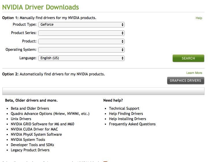 Dónde descargar los controladores de NVIDIA para Windows 10/8/7