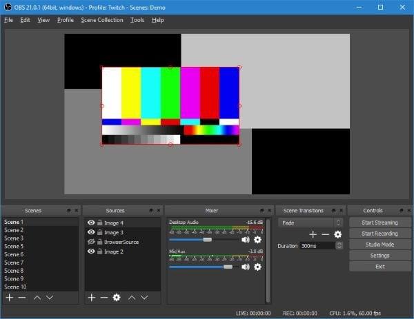 OBS Studio es el mejor software de grabación de vídeo y streaming en directo 2