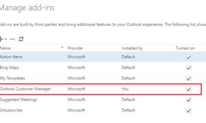 Hemos encontrado un mensaje de error en el Administrador de clientes de Outlook