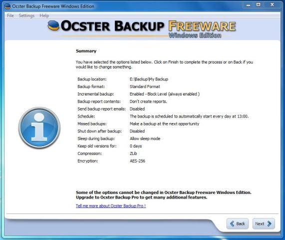 Ocster Backup: Software gratuito para realizar copias de seguridad y proteger sus datos