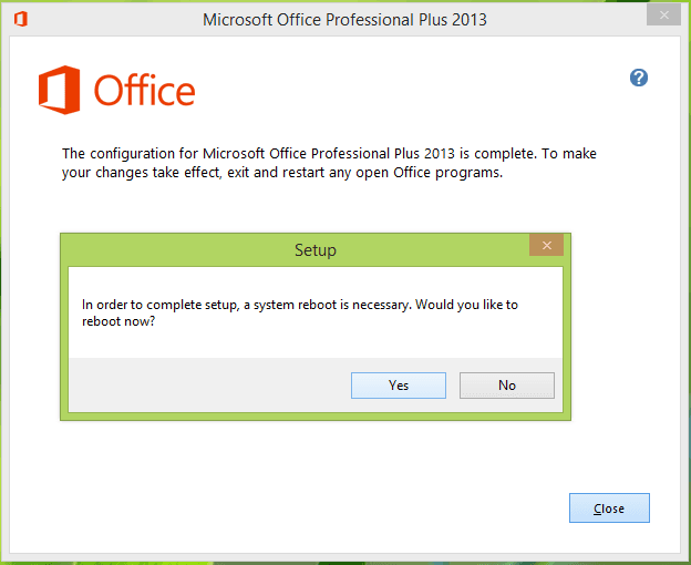 Error de Microsoft Office: Algo salió mal. Código de error 30094-4