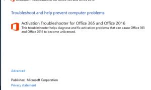 Corregir código de error x80070005 durante la activación de Office