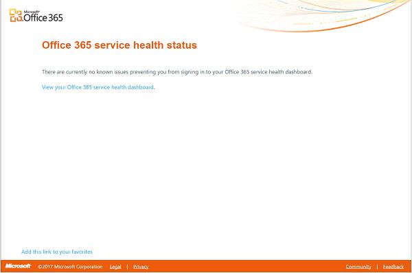 Cómo saber si Microsoft Services está caído o no 2