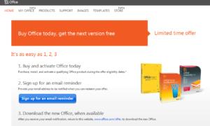 Comprar Office2010 y obtener Office2013 gratis