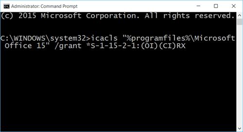 Los documentos de Office no se abren después de la actualización a Windows 10