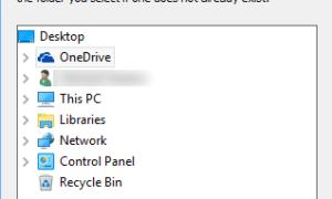 Mover o cambiar la ubicación de la carpeta OneDrive en Windows 10