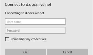 Cómo asignar OneDrive como unidad de red en Windows 10