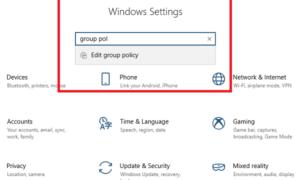 Cómo abrir el Editor de directivas de grupo en Windows 10
